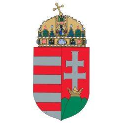 Magyarország címere laminált 21×29,7 cm  A/4   A Magyar Köztársaság címere, Magyar nemzeti címer vékony fóliás