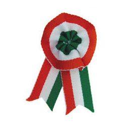 Kokárda 8 cm  Magyar nemzeti kokárda biztostűvel