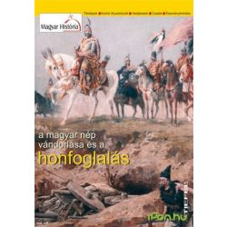 A magyar nép vándorlása és a honfoglalás térkép Stiefel