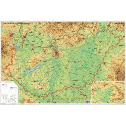 Magyarország domborzata és vizei iskolai lap Stiefel A/4