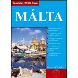 Málta útikönyv Booklands 2000 kiadó  2016