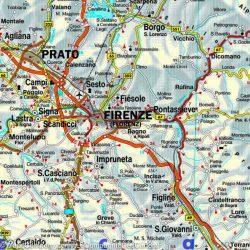 Olaszország falitérkép Freytag 1:600 000 125x95 cm