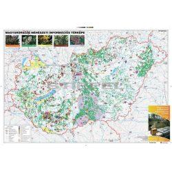 Magyarország méhészeti információs térképe Stiefel 2010