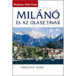 Milánó és az olasz tavak útikönyv Booklands 2000 kiadó