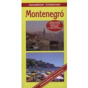 Montenegró útikönyv Dekameron kiadó