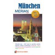 München útikönyv Merian kiadó