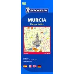 90. Murcia térkép Michelin  1:6 000