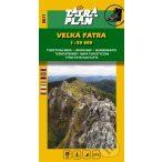 5011. Nagy Fátra turista térkép, Velká Fátra térkép  Tatraplan 1:50 000