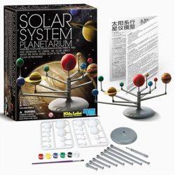 4M naprendszer bolygók modell / naprendszer makett - Solar System Planetárium 82735
