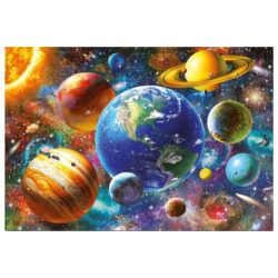 Naprendszer puzzle, Educa Puzzle kirakó 100 db  48 x 34 cm