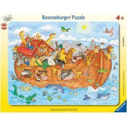 Noé bárkája puzzle Ravensburger 48 db-os  37x29 cm