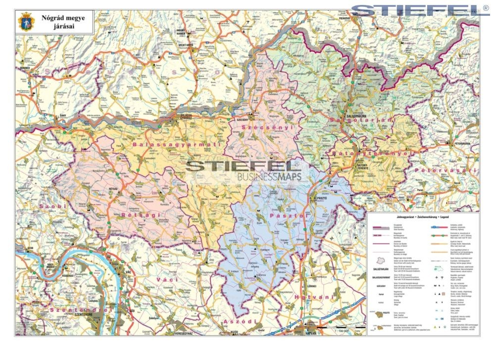 Nograd Megye Femleces Faliterkep Stiefel 100x 70 Cm 1 100 000