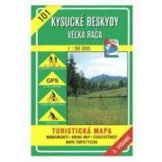 101. Nyugati Beszkidek turista térkép VKÚ 1:50 000