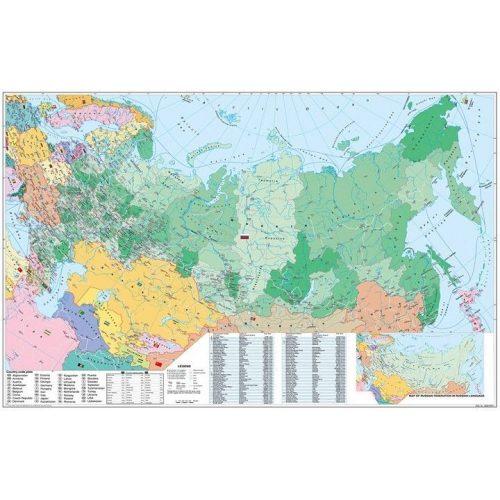 Oroszorszag Es Kelet Europa Iranyitoszamos Terkepe Oroszorszag