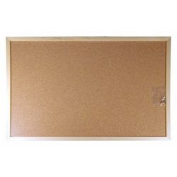 Parafa tábla 60x100 cm fakeretes parafatábla 100x60 cm fa kerettel Viktoria