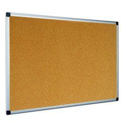 Parafatábla 100x150 cm aluminium kerettel, alukeretes parafa tábla 150x100 cm