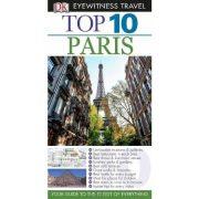 Párizs útikönyv Top 10 Panemex kiadó 2012