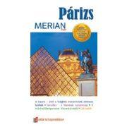 Párizs útikönyv Merian kiadó