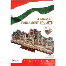 A magyar Parlament puzzle, A magyar Parlament épülete, Parlament 3D puzzle - 234 db-os