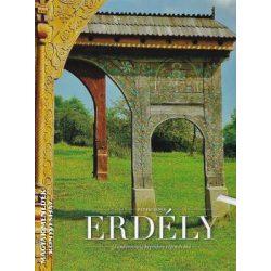 Erdély könyv, Tündérország képekben régen és ma. 2. átdolgozott kiadás Pataki János 2019 Erdély látnivalói képekkel