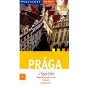 Prága útikönyv Polyglott kiadó