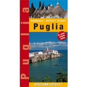 Puglia útikönyv Hibernia kiadó, Hibernia Nova Kft. Puglia tartomány útikönyv 2018
