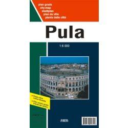 Pula térkép Forum 1:10 000