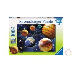 Ravensburger 100 db-os XXL puzzle - Világűr puzzle (10904), Naprendszer puzzle kirakó 49 x 36 cm