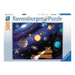 Ravensburger Naprendszer puzzle kirakó 500 db  49 x 36 cm