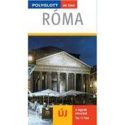 Róma útikönyv Polyglott kiadó