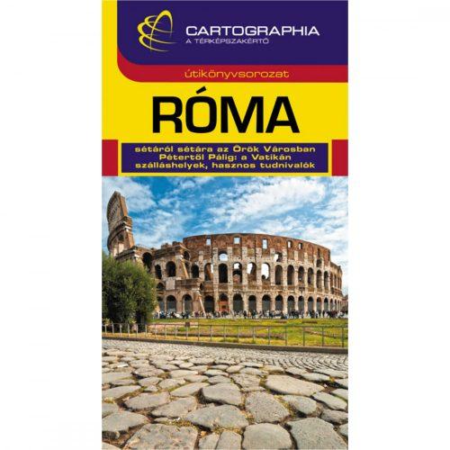 Róma útikönyv Cartographia