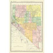 Sierra Nevada térkép Rand M