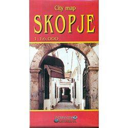Szkopje térkép, Szkopje várostérkép Intersistem 1:16 000