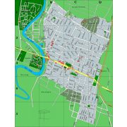 Szarvas térkép, Békésszentandrás térkép