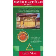 Székelyföld térkép Gizi Map 1:200 000