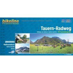 Tauern-Radweg kerékpáros atlasz Esterbauer 1:50 000