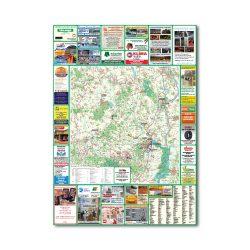 Tolna megye térkép Térképház hajtogatott 1:150 000