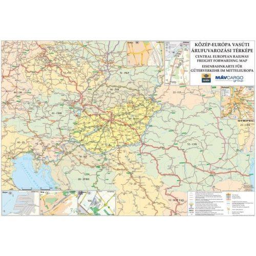 Kozep Europa Vasuti Terkepe Femleces Kozep Europa Faliterkep 1 5