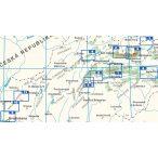 VKÚ áttekintő térkép 1:25 000