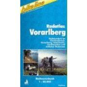 RK 100 Vorarlberg kerékpáros térkép Freytag & Berndt 1:100 000