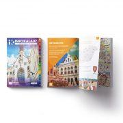 Sopron infokalauz, Sopron térkép Térképház 1:20 e  2019 Sopron és járás könyv