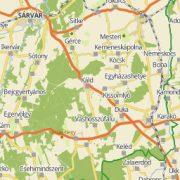 Zalaegerszeg térkép Dimap Zalaegerszeg várostérkép