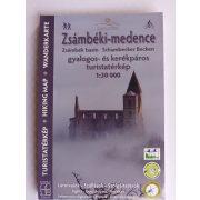 Zsámbéki-medence turistatérkép, Zsámbéki medence térkép Schwarcz 2020